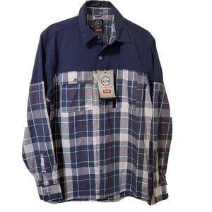 Wrangler ATG Organic Cotton Blend Overlay Flannel